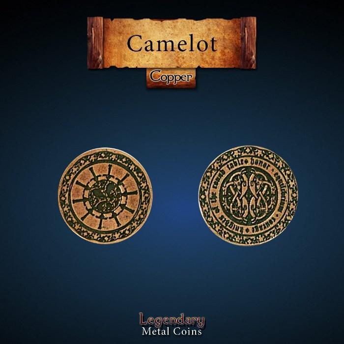 Camelot Copper Coin