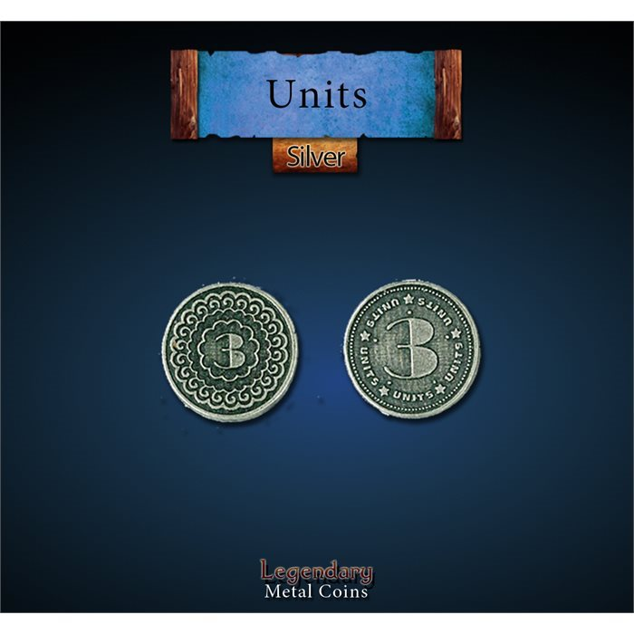 Units Silver coins