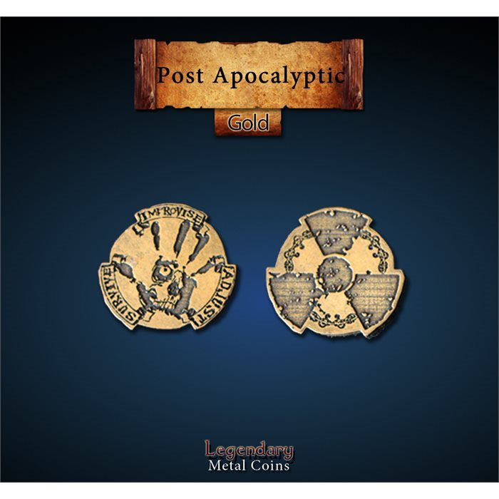 Post Apocalyptic Gold Coins