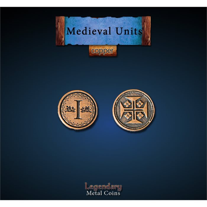 Medieval Units Copper Coins