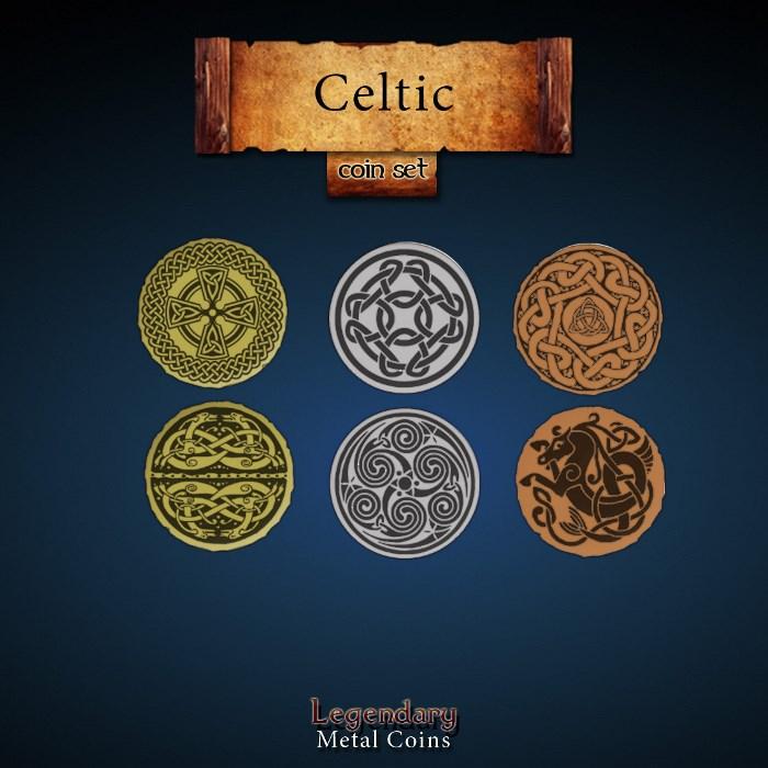 Celtic Coin Set