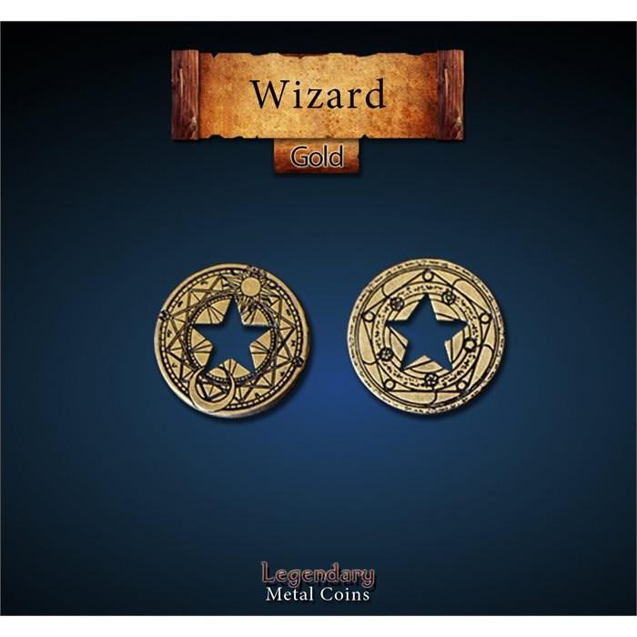 Wizard Gold Coin