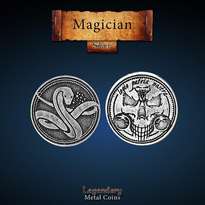 Magician Silver Coin