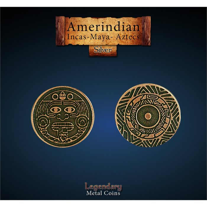 Amerindian Copper Coin