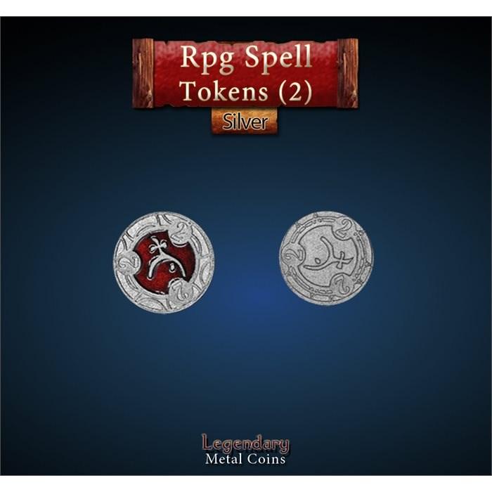 RPG Spell Token 2 - RED