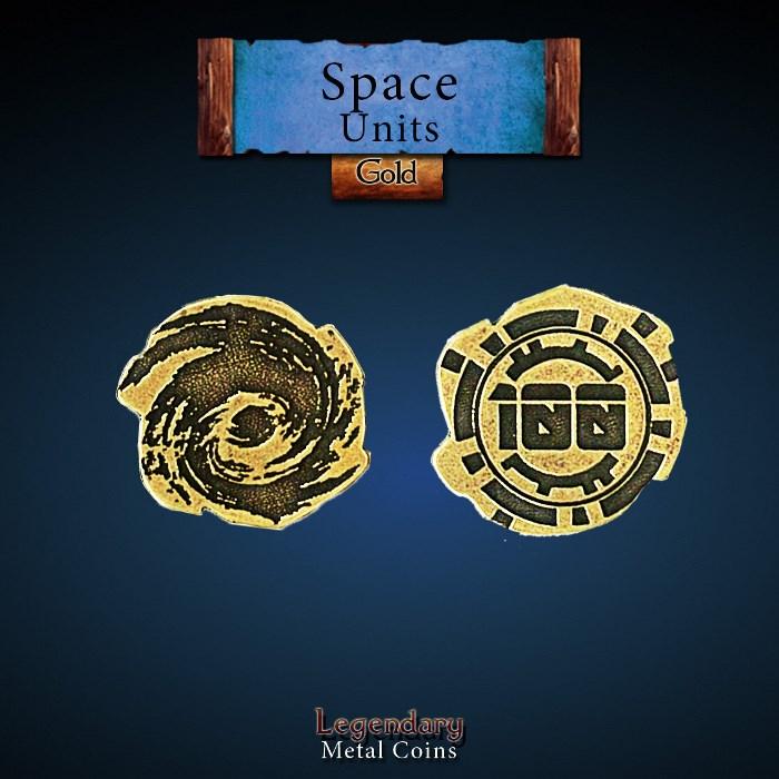 Space Unit Copper 100 Coins