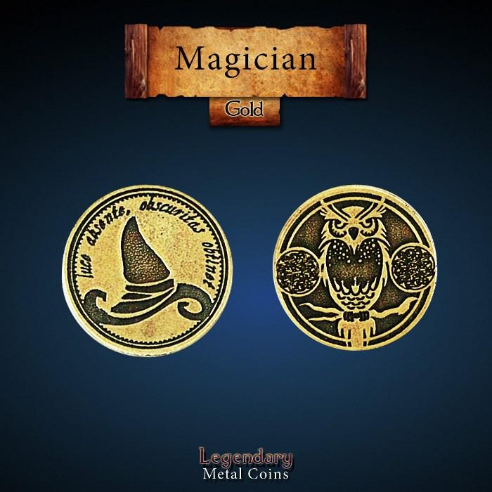 Magician Gold Coin