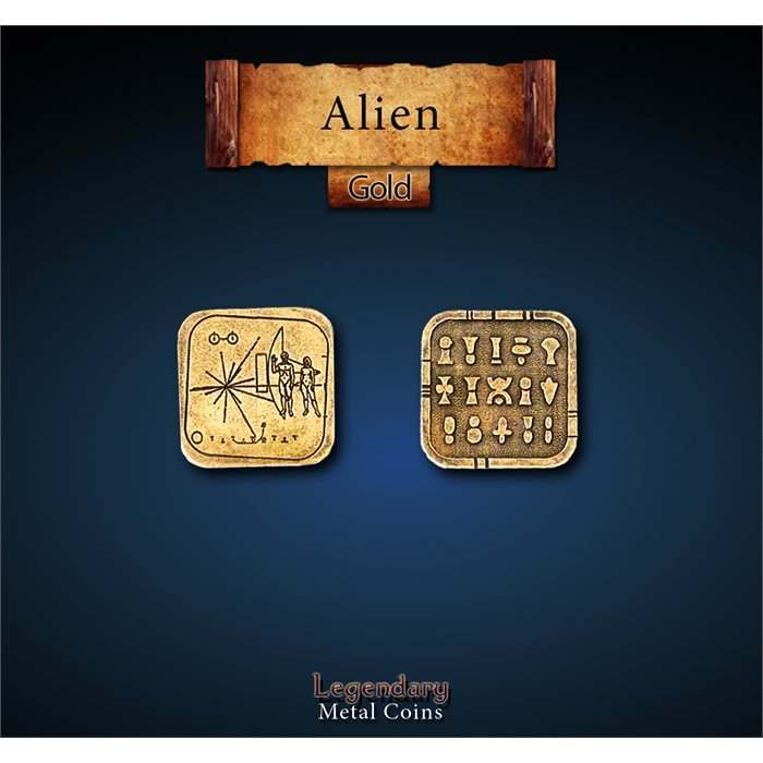 Alien Gold Coins