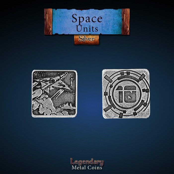 Space Unit Copper 10 Coins