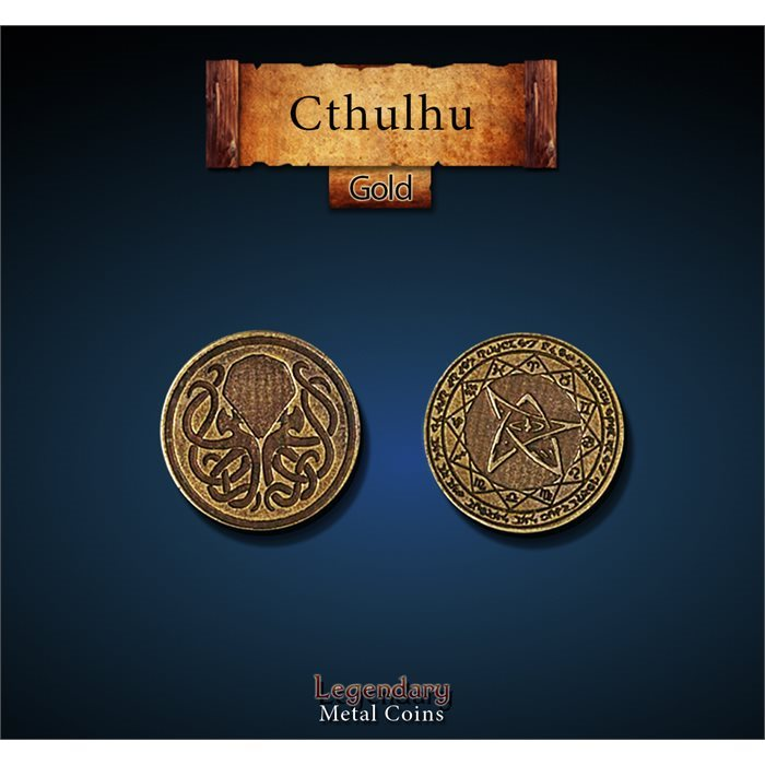 Cthulhu Gold Coins