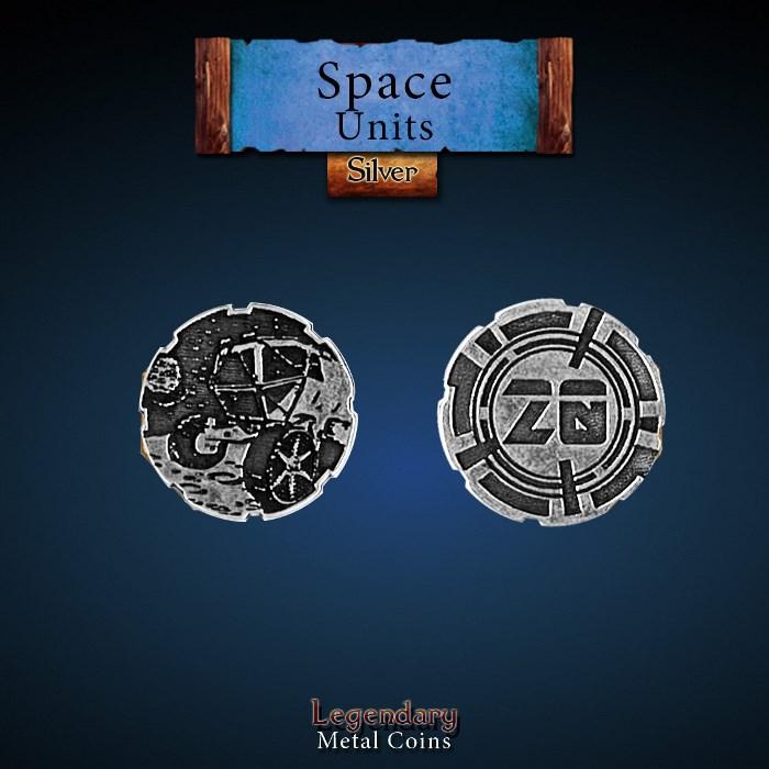 Space Unit Copper 20 Coins