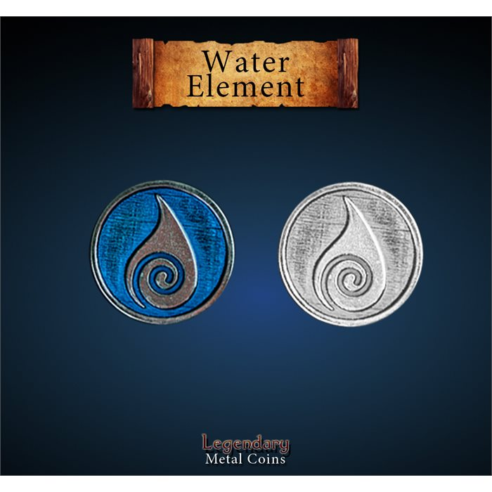 Elements Coin Set - Water