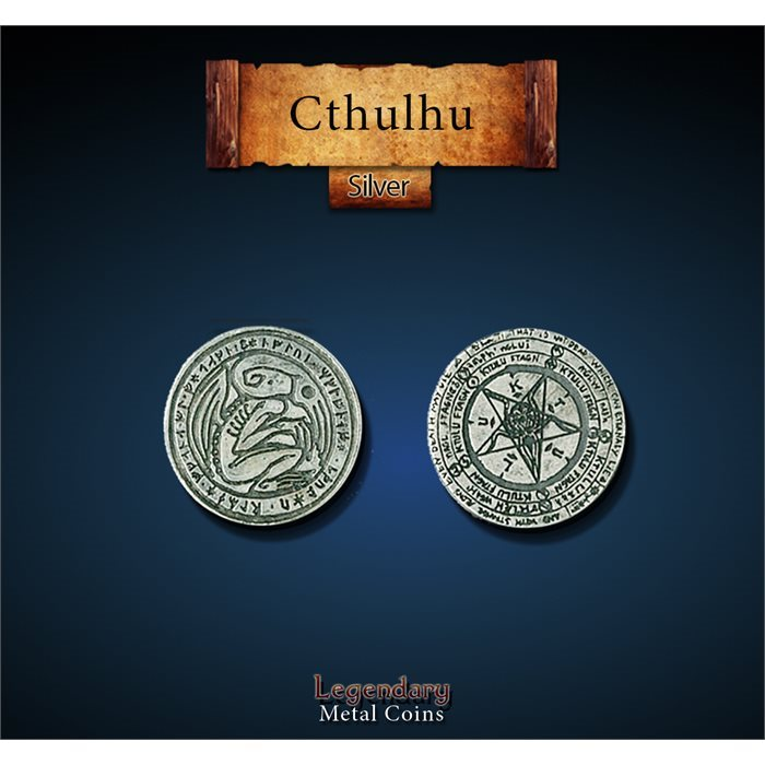 Cthulhu Silver Coins
