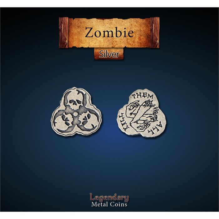 Zombie Silver coins