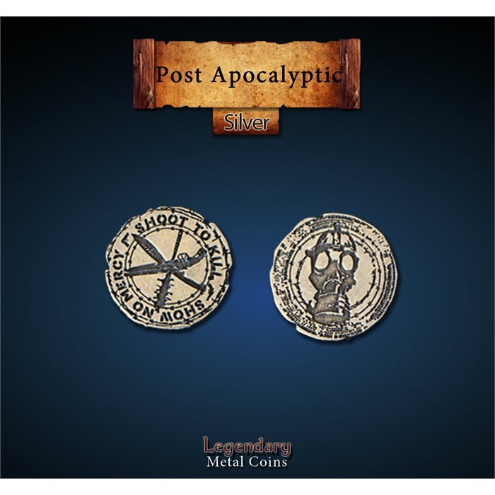 Post Apocalyptic Silver Coins