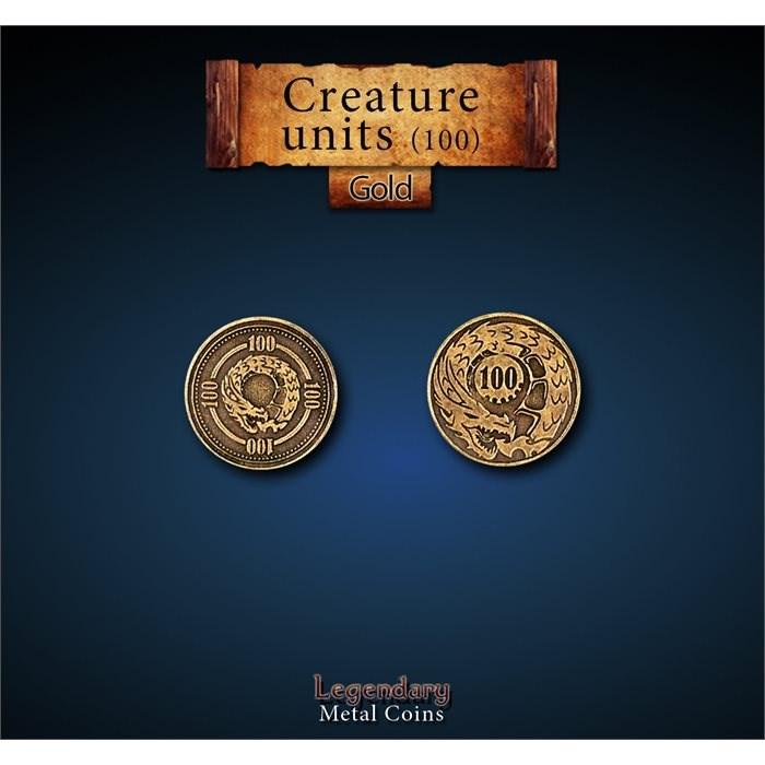 Creature Unit Gold 100 Coins
