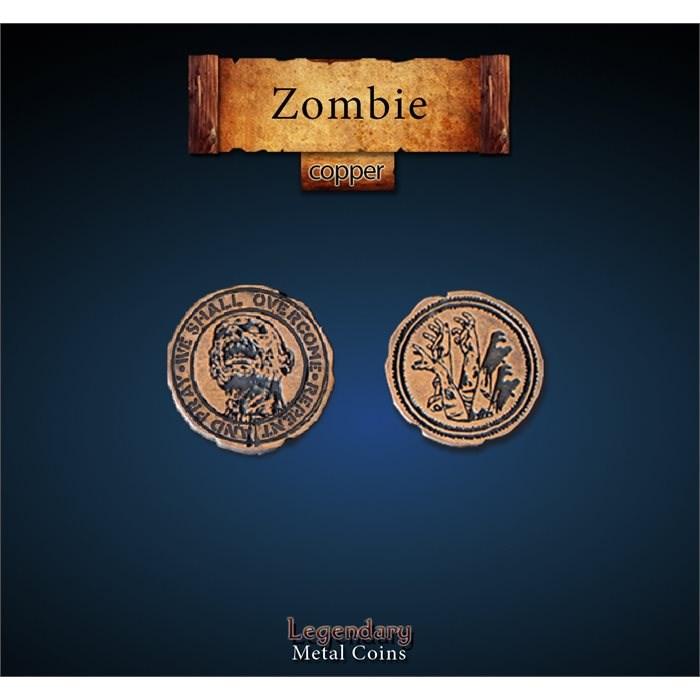 Zombie Copper Coins