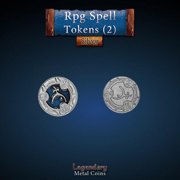 RPG Spell Token 2 - BLUE