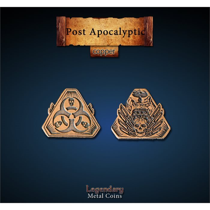 Post Apocalyptic Copper Coins