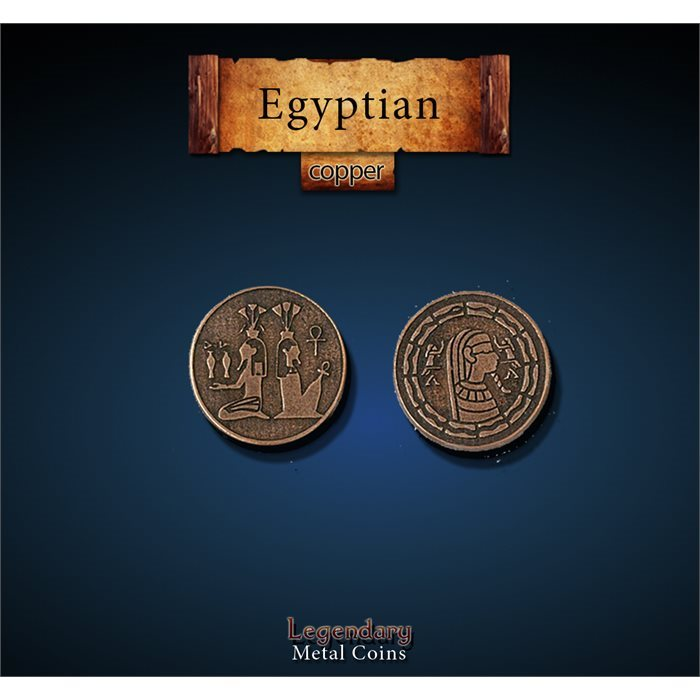Egyptian Copper Coins