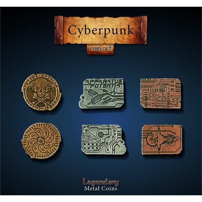 Cyberpunk Coin Set
