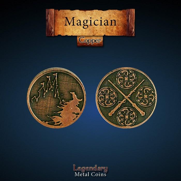Magician Copper Coin