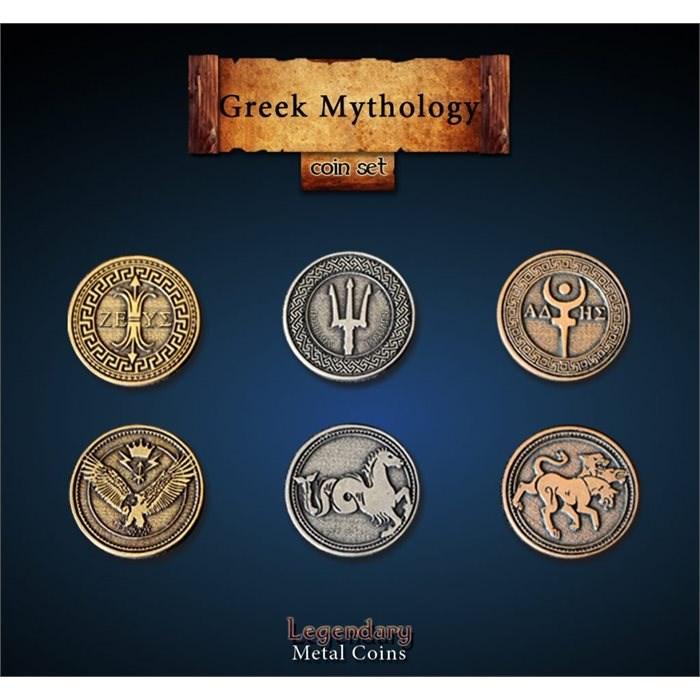 Greek Mythology Coin Set