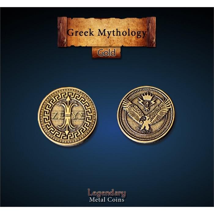 Greek Mythology Gold Coins