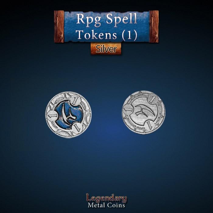 RPG Spell Token 1 - BLUE