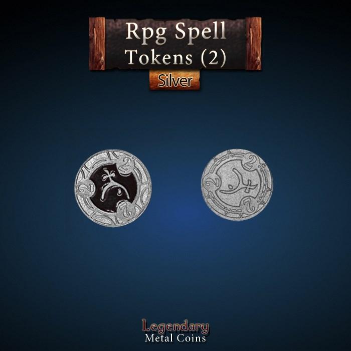 RPG Spell Token 2 - BLACK