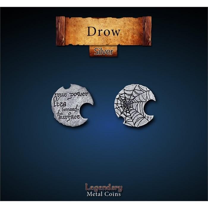 Drow Silver Coins