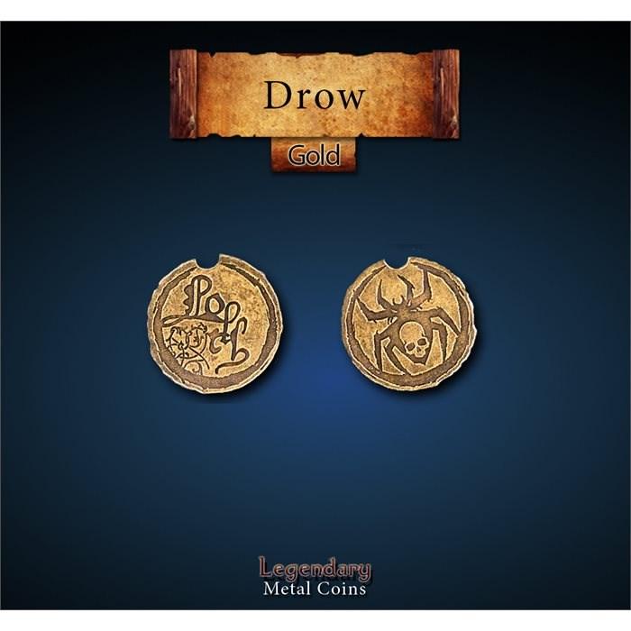 Drow Gold Coins