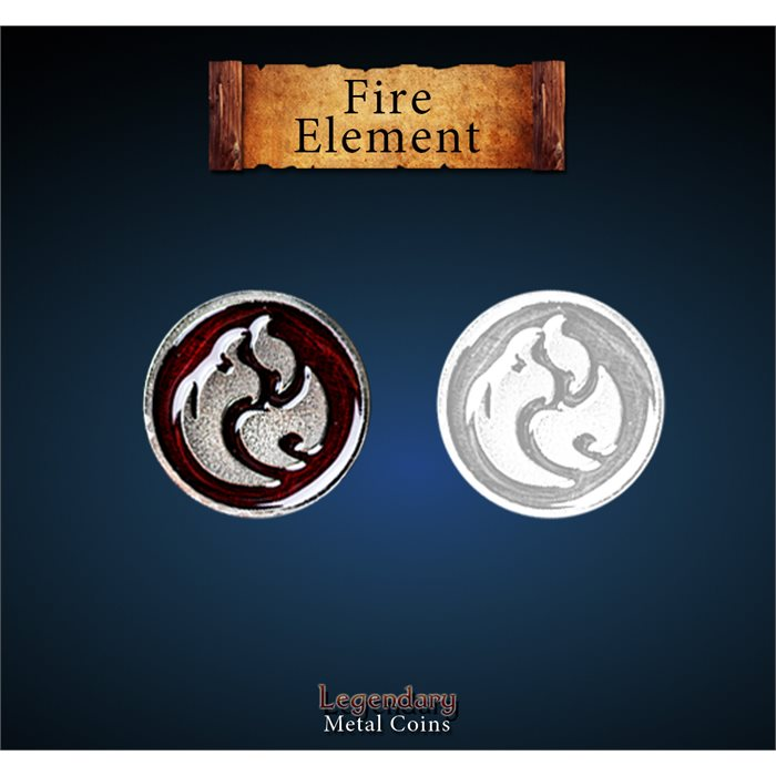 Fire Element Token