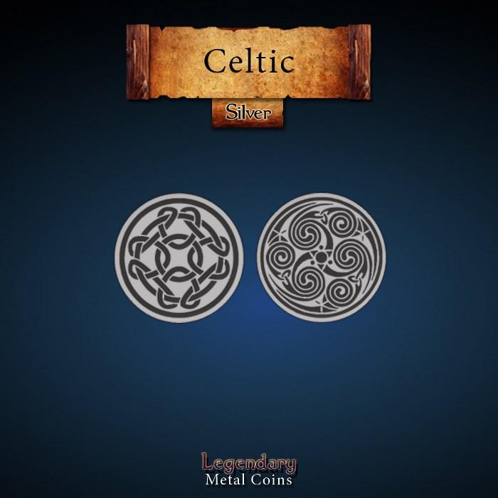 Celtic Silver Coin