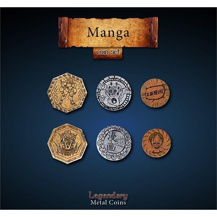 Manga Coins Set