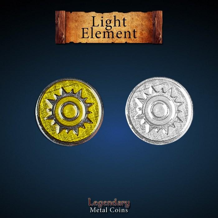 Elements Coin Set - Light