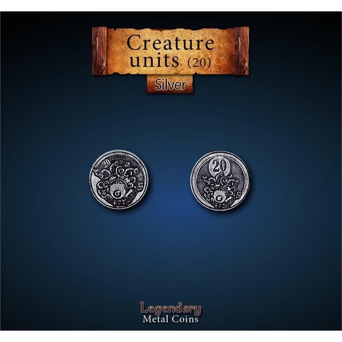 Creature Unit Silver 20 Coins