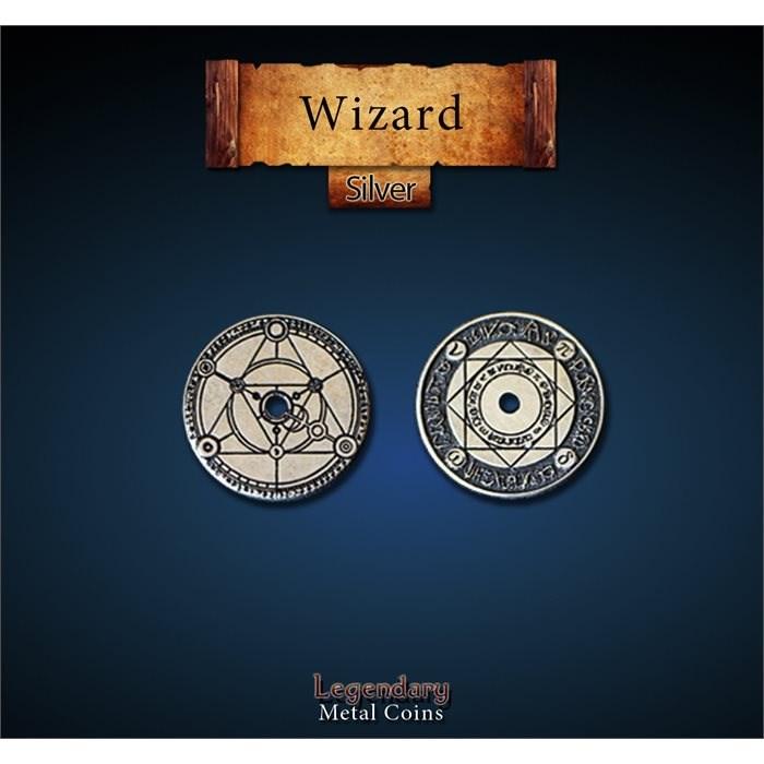 Wizard Silver Coin