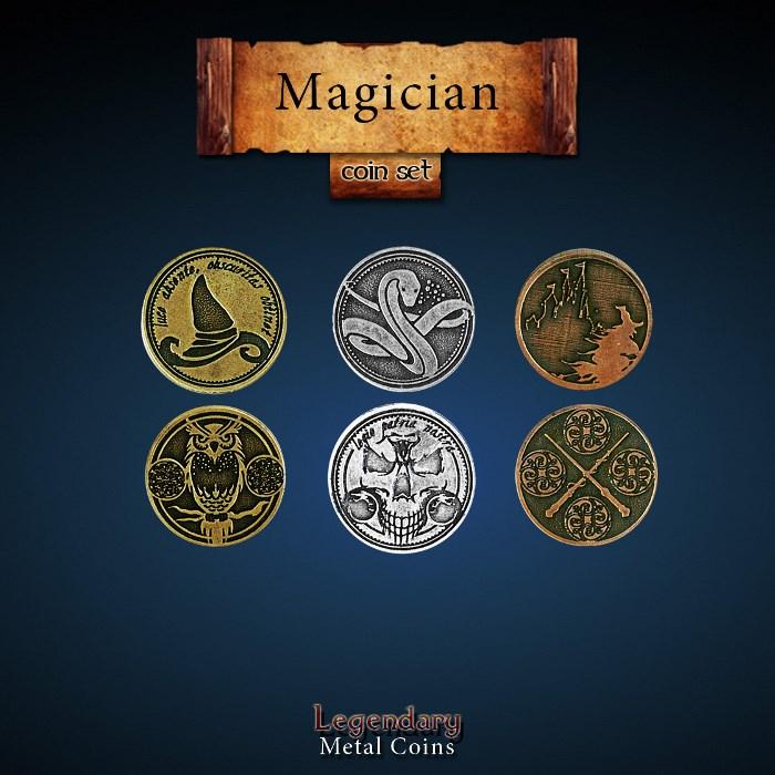 Magician Coin Set