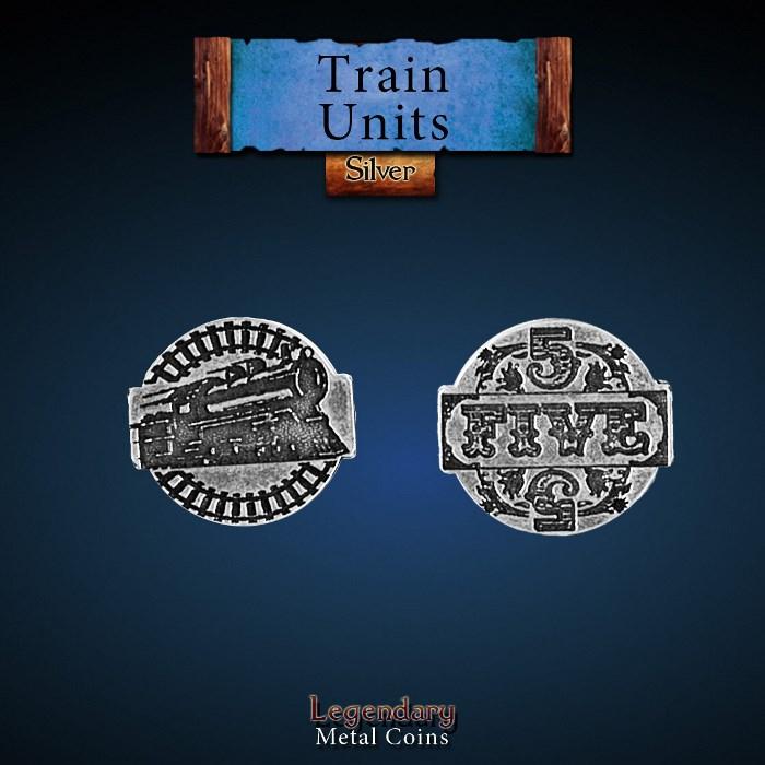 Train Units Silver Coin