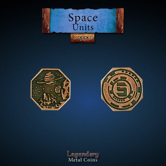 Space Unit Copper 5 Coins