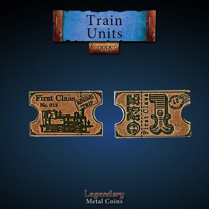 Train Units Copper Coin
