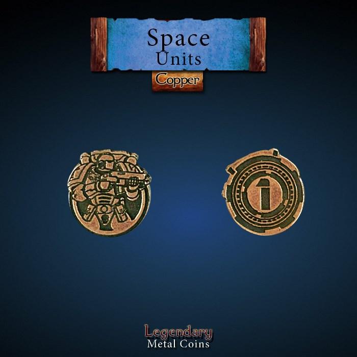 Space Unit Copper 1 Coins