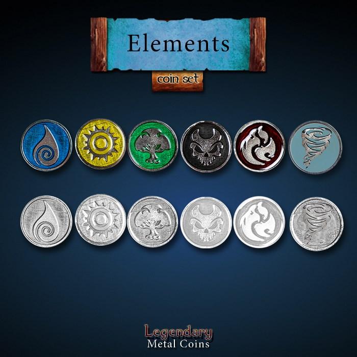 Elements Coin Set - Element Pack