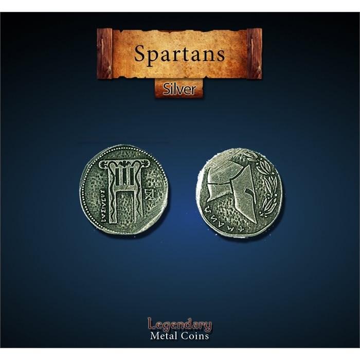 Spartan Silver Coins