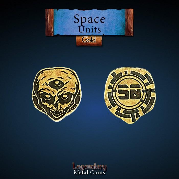 Space Unit Copper 50 Coins