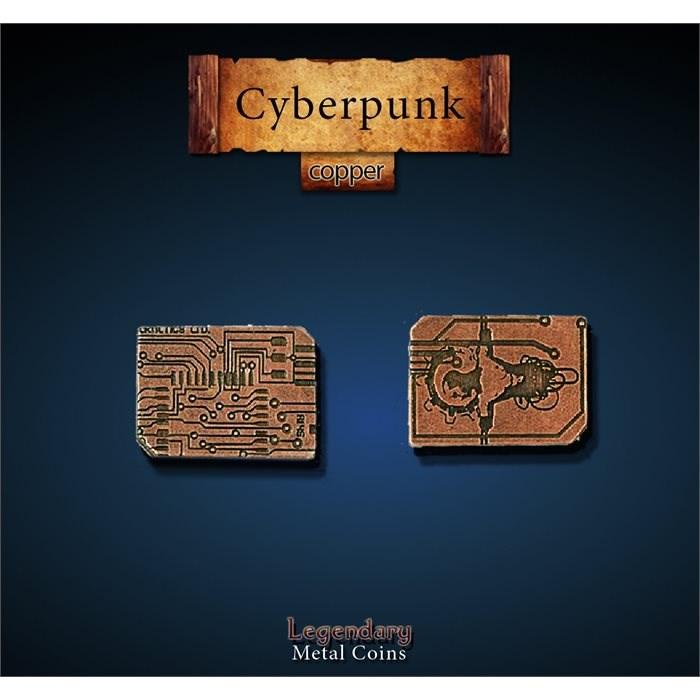 Cyberpunk Copper Coins