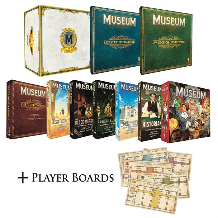 Museum Newcomer bundle
