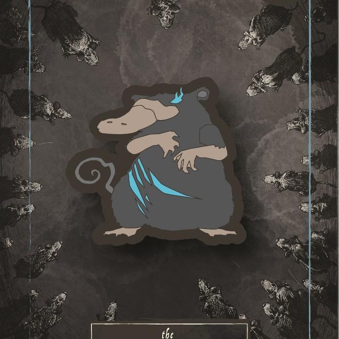 Ratypus - Enamel Pin