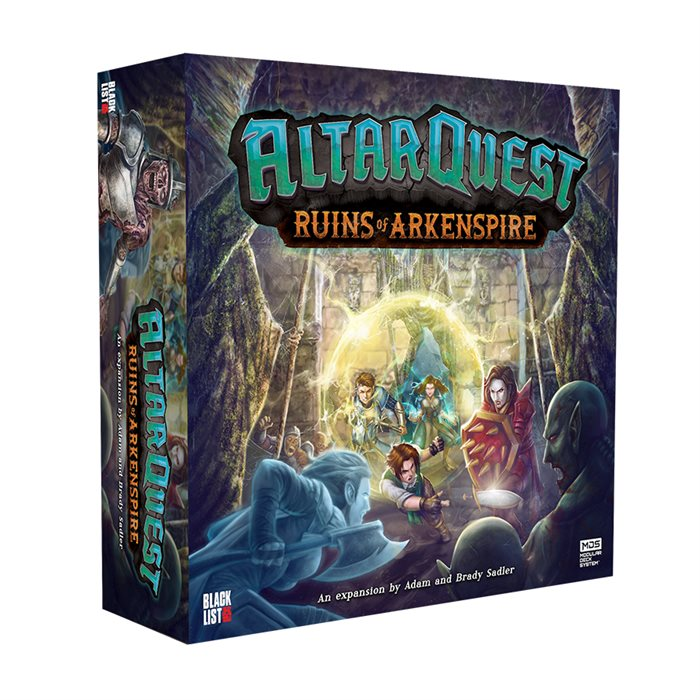 """Altar Quest - """"Ruins of Arkenspire"""" expansion (Late Pledge Limited Quantities)"""
